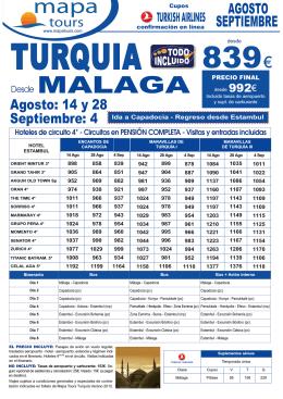 14-06-12 oferta Maravillas de Turquia Junio-Julio