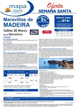 26-12-12 Maravillas Madeira Semana Santa Bcn desde