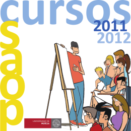 Folleto cursos SAOP 2011/12