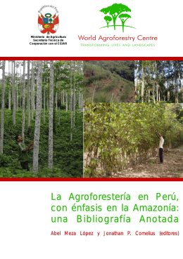 bibliography cover 5 - World Agroforestry Centre