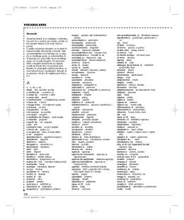 Gente 1 - Libro del alumno - Glosario español