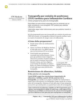 cardíaca para Inflamación Cardiaca - UWMC Health On-Line