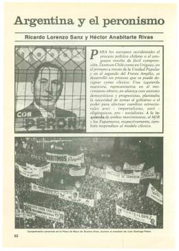 Argentina y el peronismo