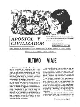 ULTIMO VIAJE - Biblioteca Digital de les Illes Balears