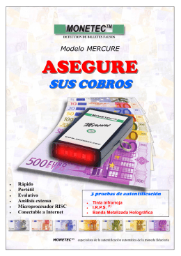 ASEGURE - monetec