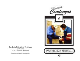 Evangelismo Personal