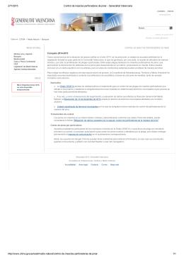 27/1/2015 Control de insectos perforadores de pinar Generalitat