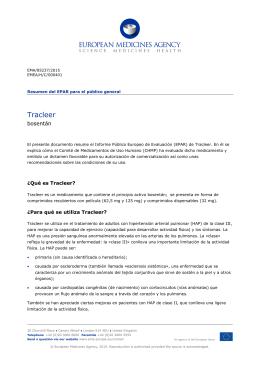 Tracleer, INN- bosentan - European Medicines Agency