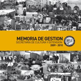 2009 2010 memoria de gestion - Inicio