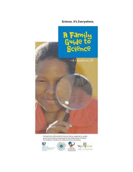 A Family Guide to Science