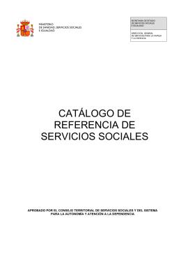Nota interior - Ministerio de Sanidad, Servicios Sociales e Igualdad
