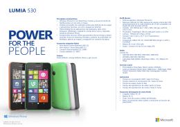 Lumia 530 Ficha