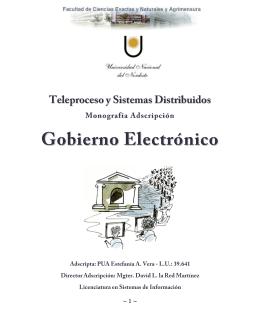 Fases de Gobierno Electrónico