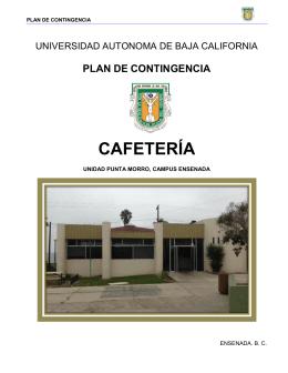 CAFETERÍA - Vicerrectoría Ensenada
