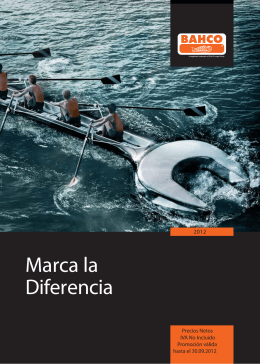 2012 BAHCO MARCA LA DIFERENCIA2