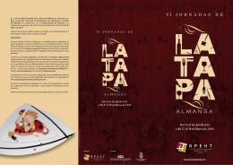 Las VI Jornadas Jornadas de La Tapa de Almansa se organizan por