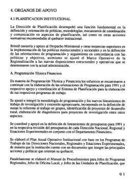4. ORGANOS DE APOYO - Ministerio de Agricultura y Ganadería