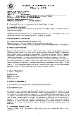 colegio de la presentacion pitalito – 2013