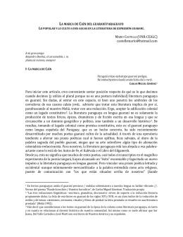 la marca de caín del guaraní paraguayo