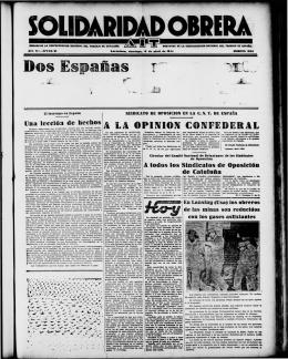 Dos Españas· r` ~~