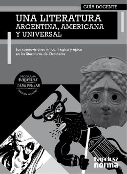 Una literatura Argentina, Americana y Universal