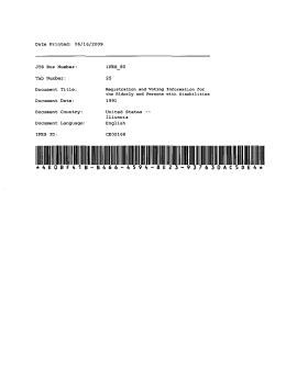 Document Date