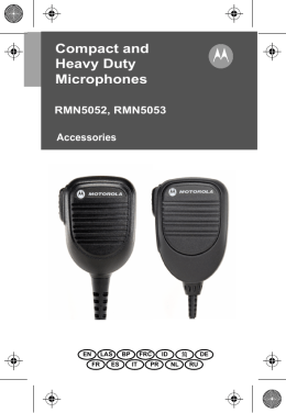 Compact and Heavy Duty Microphones