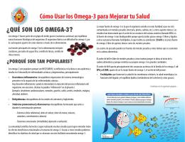 Cómo Usar los Omega-3 para Mejorar tu Salud