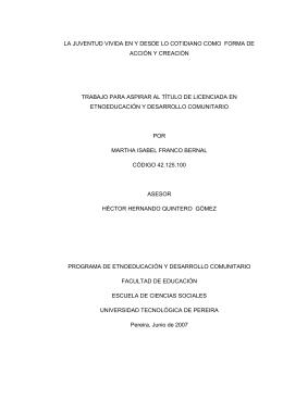 INFORME FINAL J MARTHA - Universidad Tecnológica de Pereira
