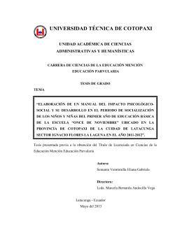 autoría - Repositorio Digital Universidad Técnica de Cotopaxi
