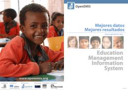 OpenEMIS folleto (español, PDF)