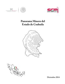 Panorama Minero del Estado de Coahuila