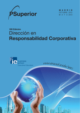 VIII Edición Programa Superior de Dirección en Responsabilidad