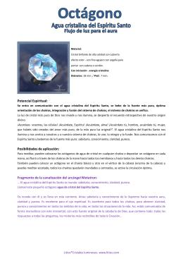 Potencial Espiritual: Posibilidades de aplicación: Fragmento de la
