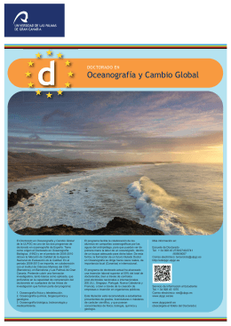Cartel Doctorado Oceanografía y Cambio Global copia