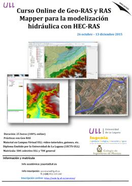 Curso Online de Geo-RAS y RAS Mapper para la