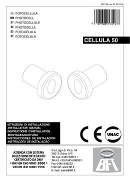CELLULA 50 - bei der KATRAC AG