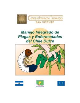 Manejo integrado de plagas y enfermedades del chile dulce