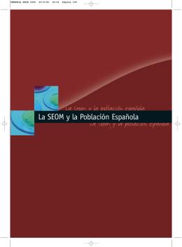 La Seom y la población española La Seom y la población española