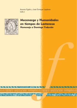 Mecenazgo y Humanidades en tiempos de Lastanosa. Homenaje a