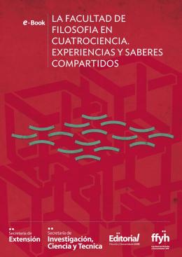 La Facultad de Filosofía en CUATROCIENCIA, experiencias y