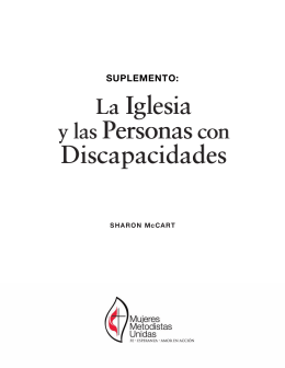La Iglesia y las Personas con Discapacidades: Supplement
