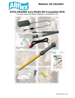 STICK READER serie RS320 ISO Compatible RFID
