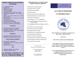 Permit Brochure 2009_Spanish.pub