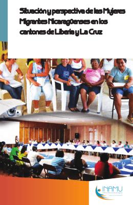 Situación y perspectiva de las Mujeres Migrantes Nicaragüenses en