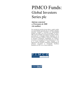 PIMCO SSBT-GIS Semi-Annual Report [Funds] 06-30
