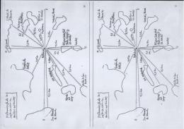 Mapa y Nucleos Urbanos