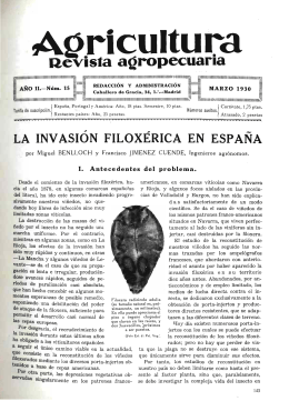 Agricultura revista agropecuaria, ISSN: 0002-1334