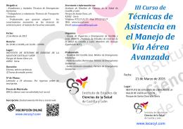 Folleto Informativo - Instituto de Estudios de Ciencias de la Salud de
