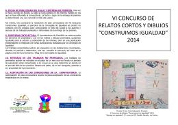 folleto VI concurso construimos igualdad